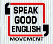 Speak Good English Logo